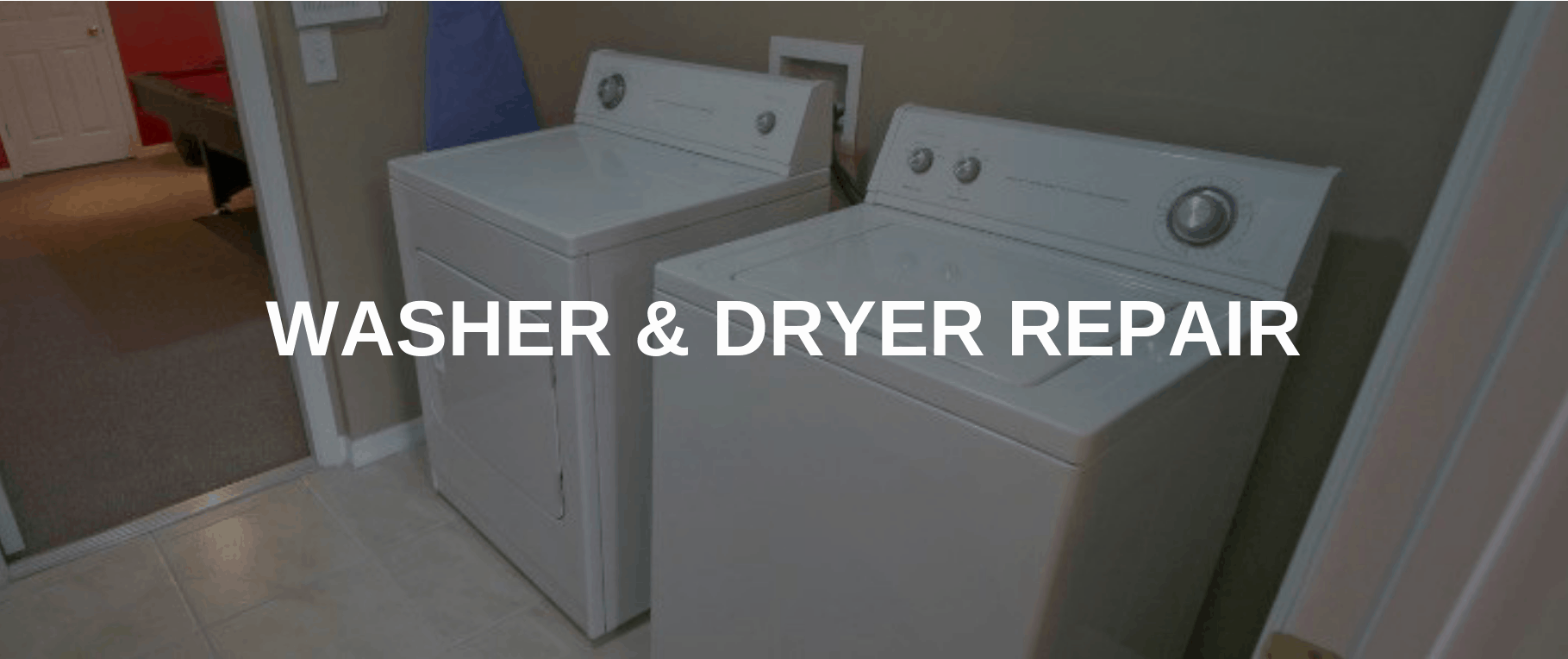 washing machine repair baltimore
